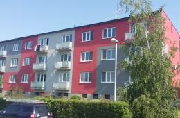 Nátěr bytového domu v Uherském Brodě
